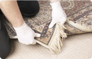carpet cleaning inspection